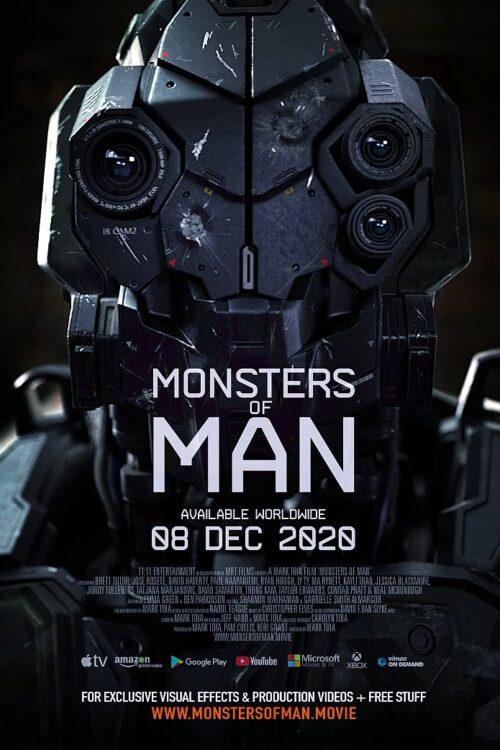 MONSTERS OF MEN | Filme de ficção científica pelo diretor Mark Toia com financiamento crowdfunding