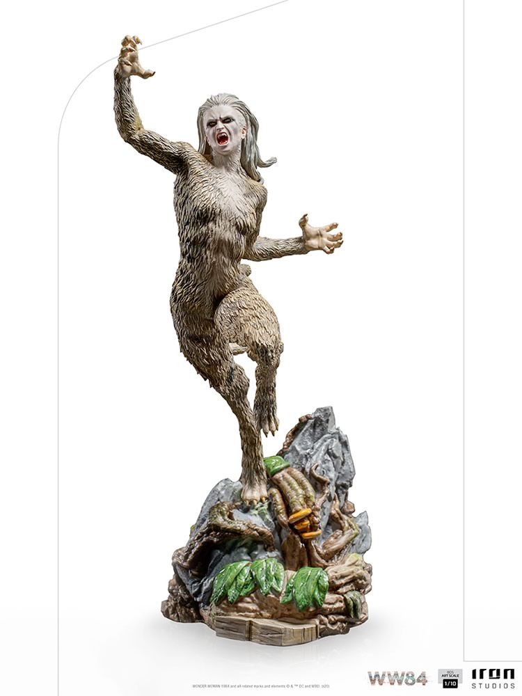 mulher maravilha 1984 iron studios colecionavel revela visual de mulher leopardo 0 - Iron Studios revela visual da Mulher-Leopardo de Mulher-Maravilha 1984 em colecionável