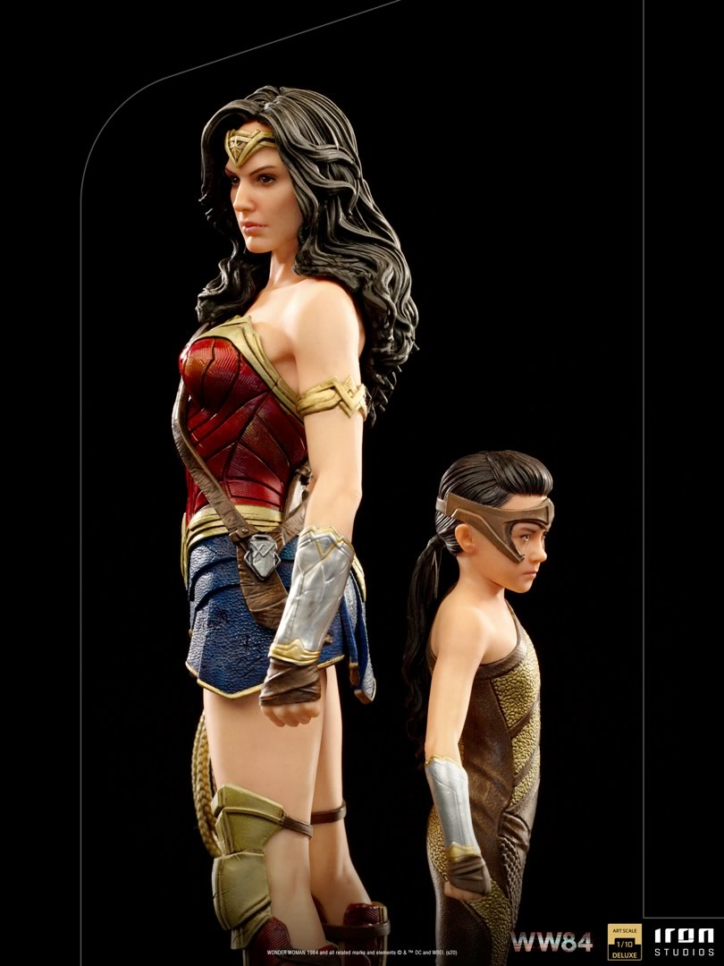 mulher maravilha 1984 versao iron studios - A evolução da Wonder Woman by Iron Studios