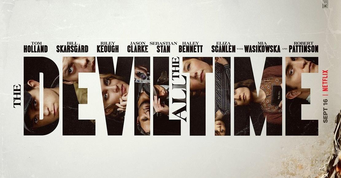 O Diabo de Cada Dia com Tom Holland e Robert Pattinson tem trailer intenso divulgado pela Netflix