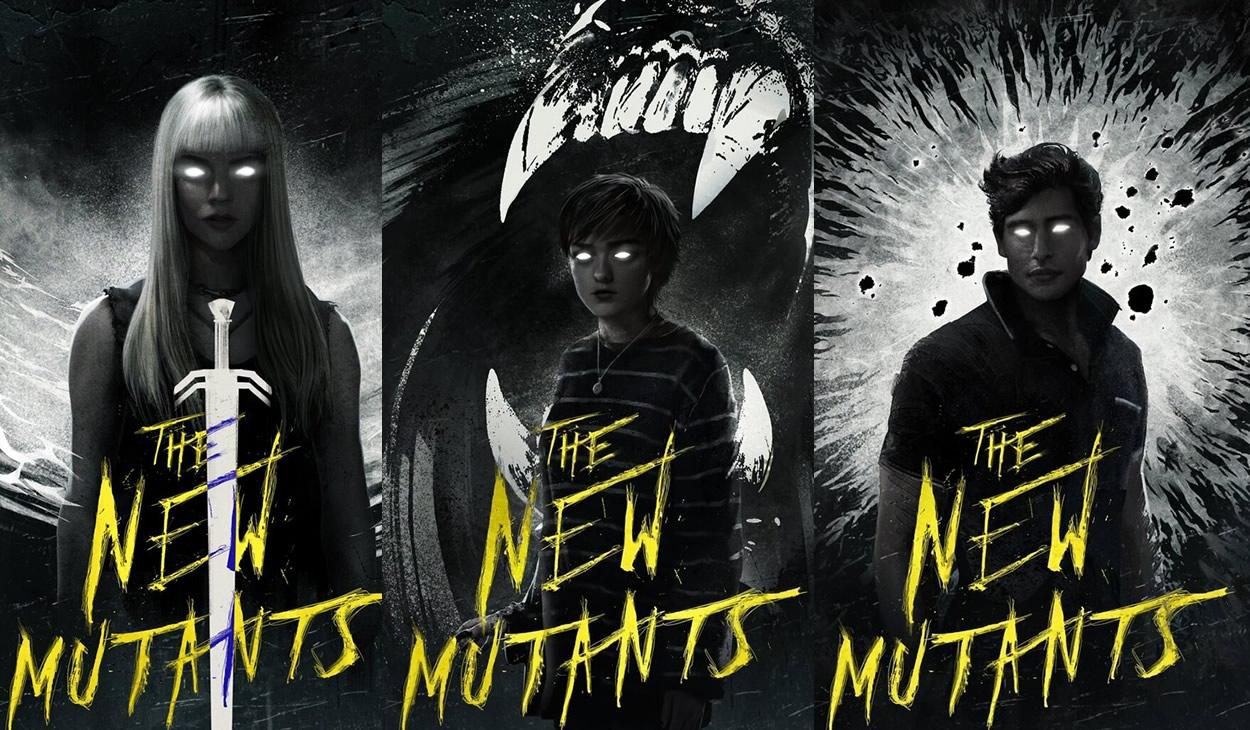 Os Novos Mutantes | Cartazes individuais dos cinco mutantes e lançamento nos cinemas