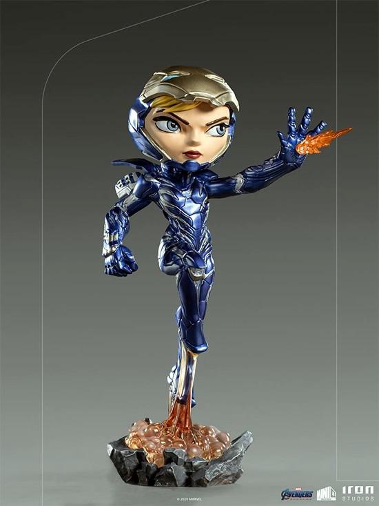 pepper potts iron studios minico 1 - Pepper Potts a Dama de Ferro na versão Minico pela Iron Studios!