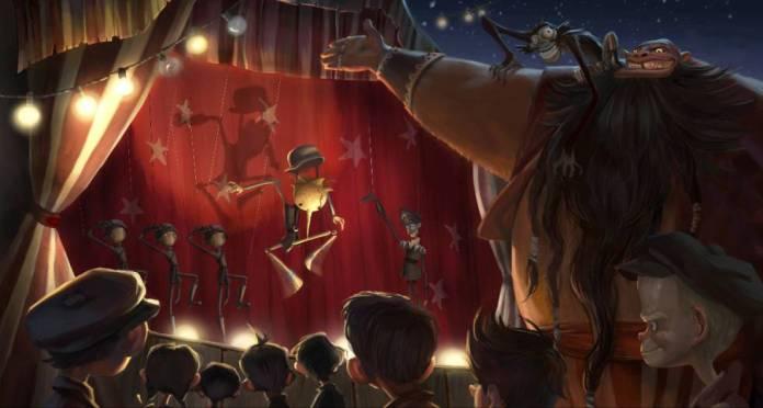 Pinóquio - Musical em Stop Motion por Guilherme del Toro