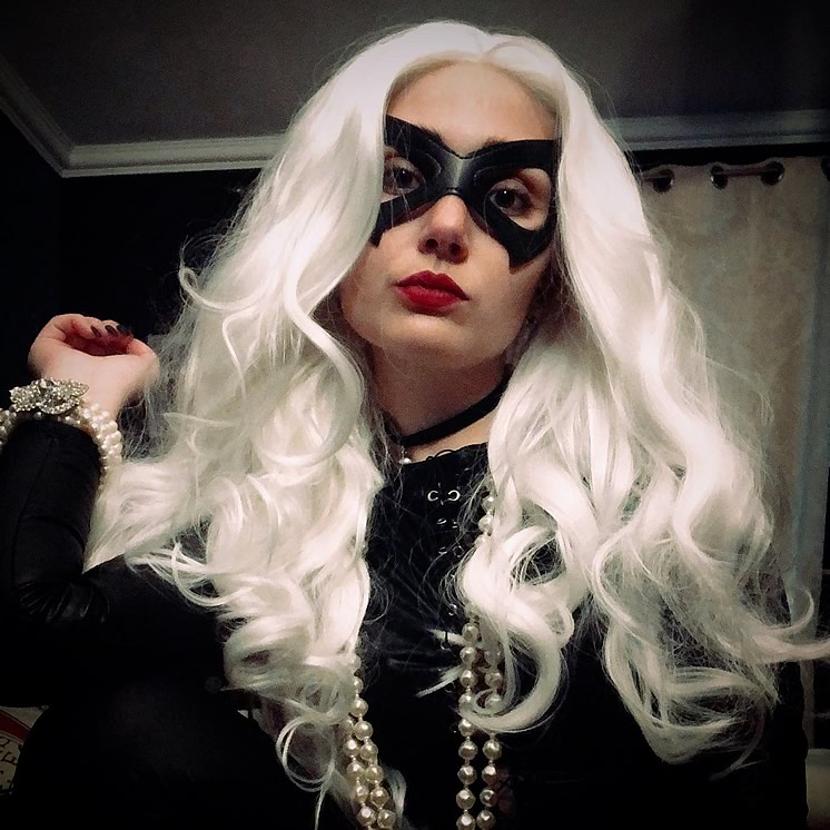 sillycat cosplayer blackcat - SillyCat Cosplayer