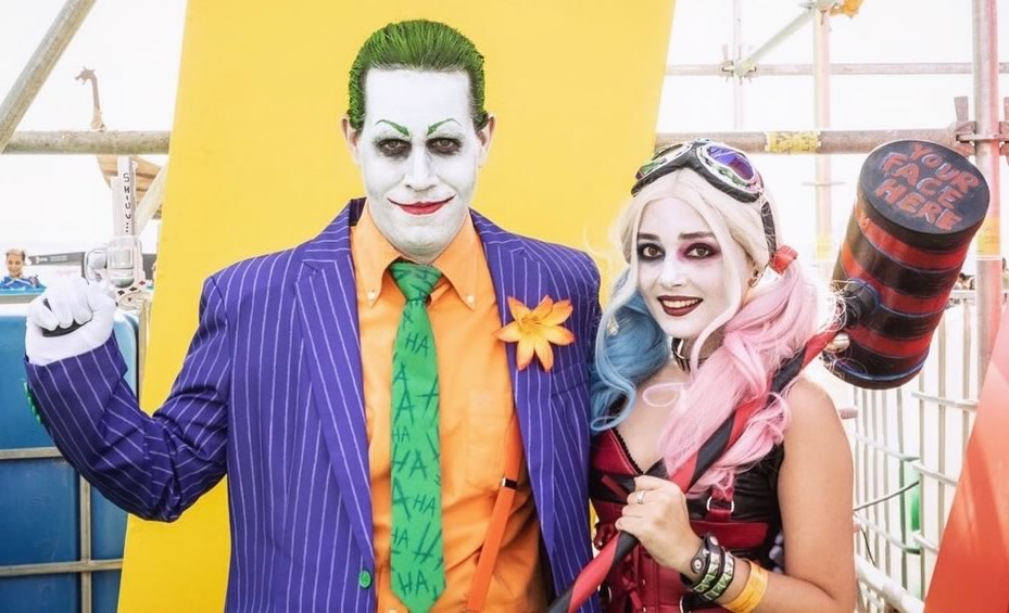 sillycat harley quinn e joker suicide squad - SillyCat Cosplayer