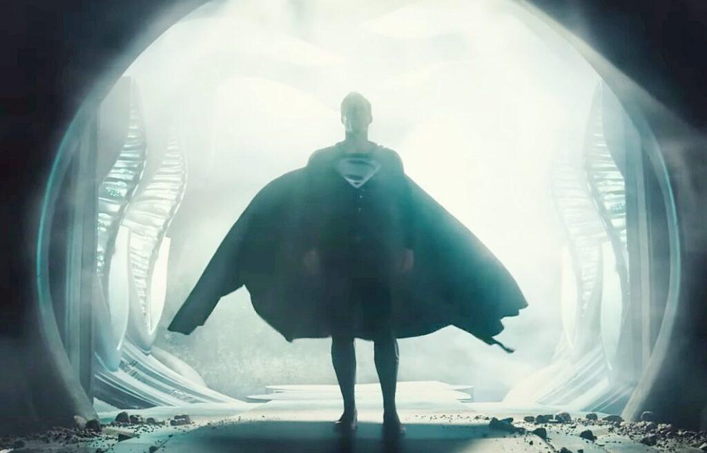 Snyder Cut de Liga da Justiça: Teaser divulgado na DC Fandome Superman com uniforme preto