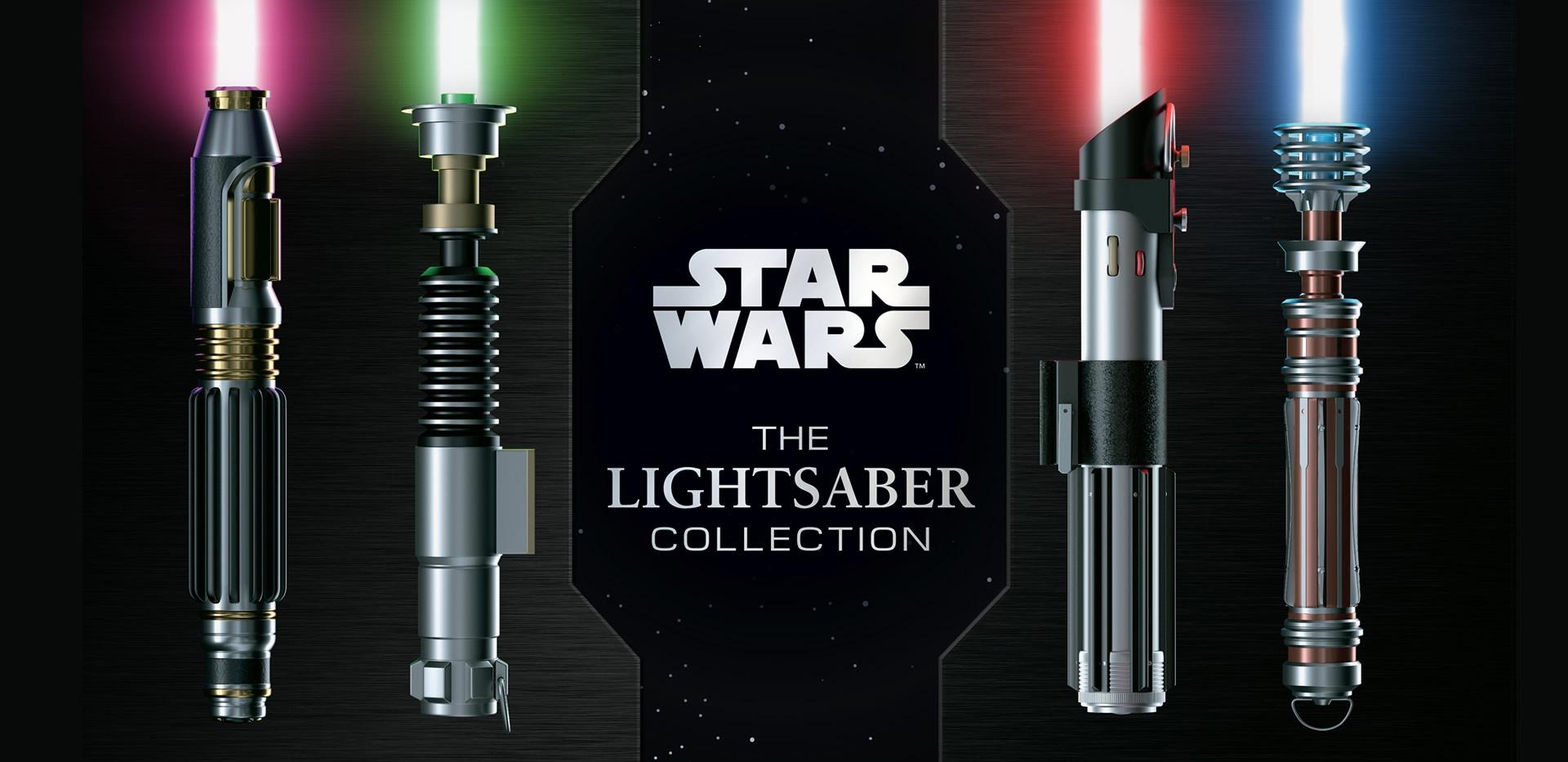 Star Wars: The Lightsaber Collection - Livro com belíssimas ilustrações e de leitura obrigatória para os fãs