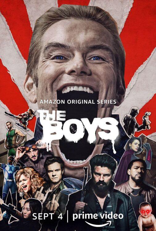 the boys 2 homelander 506x750 - The BOYS Segunda Temporada | Amazon Prime Vídeo divulga trailer final e cartazes