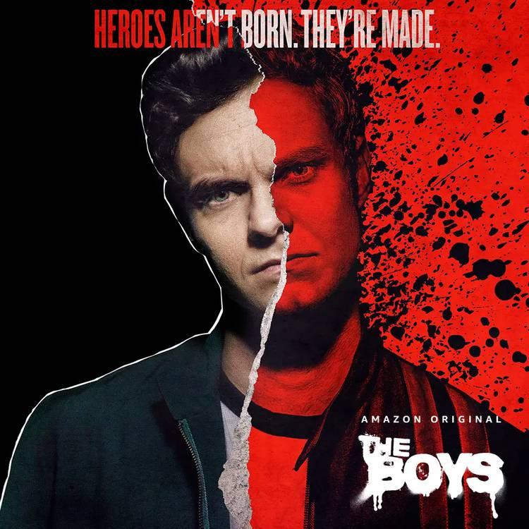 Segunda temporada de The Boys tem novos cartazes divulgados pela Amazon Prime Vídeo