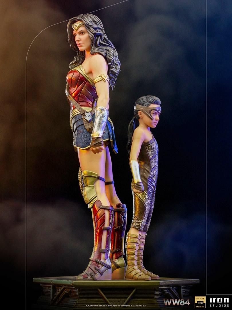 ww84 versao mulher maravilha 1984 iron studios - A evolução da Wonder Woman by Iron Studios
