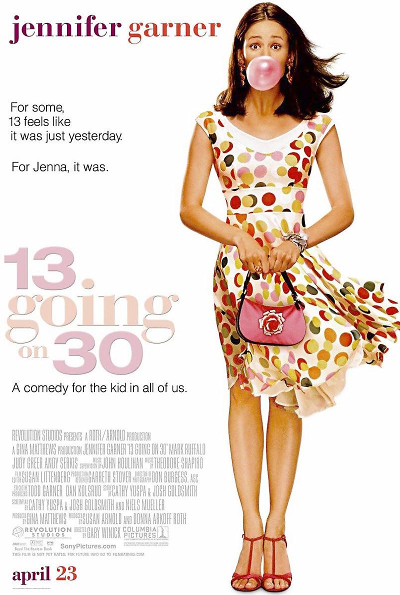 13 going on 30 christa b allen recria cena da adolescente jenna rink - De Repente 30 | Christa B. Allen recria cena da adolescente Jenna Rink