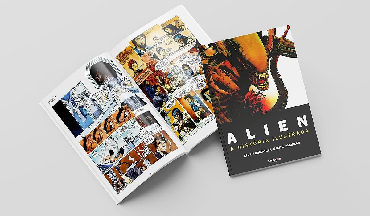 alien novelizacao o oitavo passageiro editora excelsior - ALIEN   Ridley Scott confirma o desenvolvimento de um novo filme ALIEN