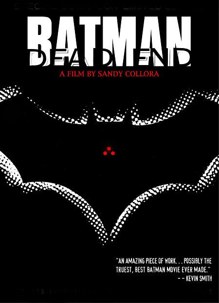 batman dead end fan film de sandy collora poster - Batman: Dead End | Fan Film de Sandy Collora considerado como um dos melhores filmes do Batman