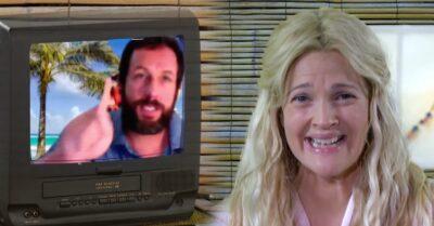 Como Se Fosse a Primeira Vez   Adam Sandler recria cena do filme para o novo talk show de Drew Barrymore