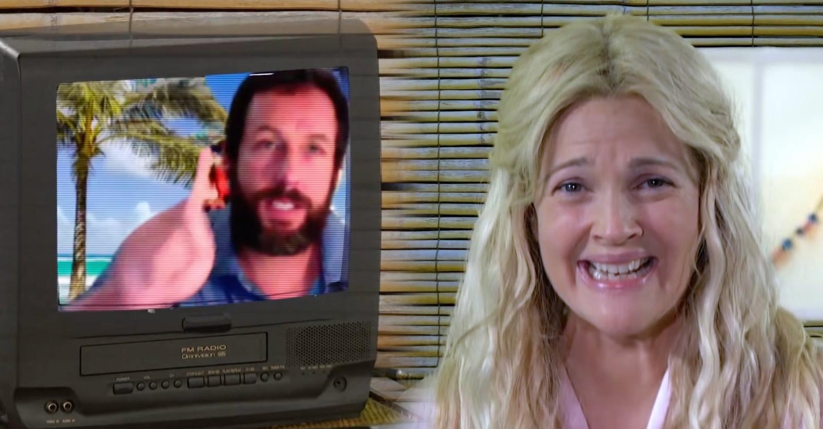 Como Se Fosse a Primeira Vez | Adam Sandler recria cena do filme para o novo talk show de Drew Barrymore
