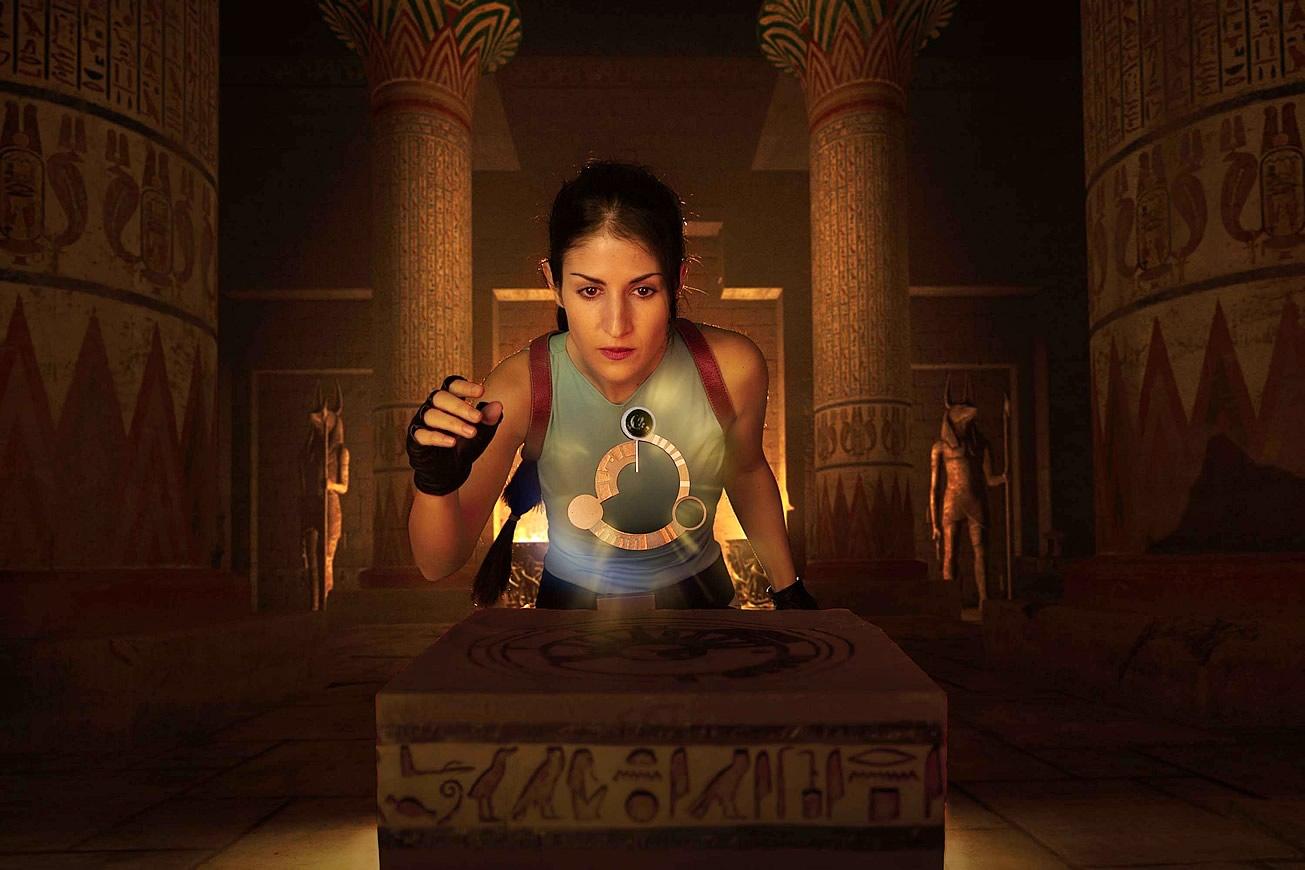crofty model cosplayer tomb raider 1 d - Crofty - The Old School Lara Croft Cosplayer