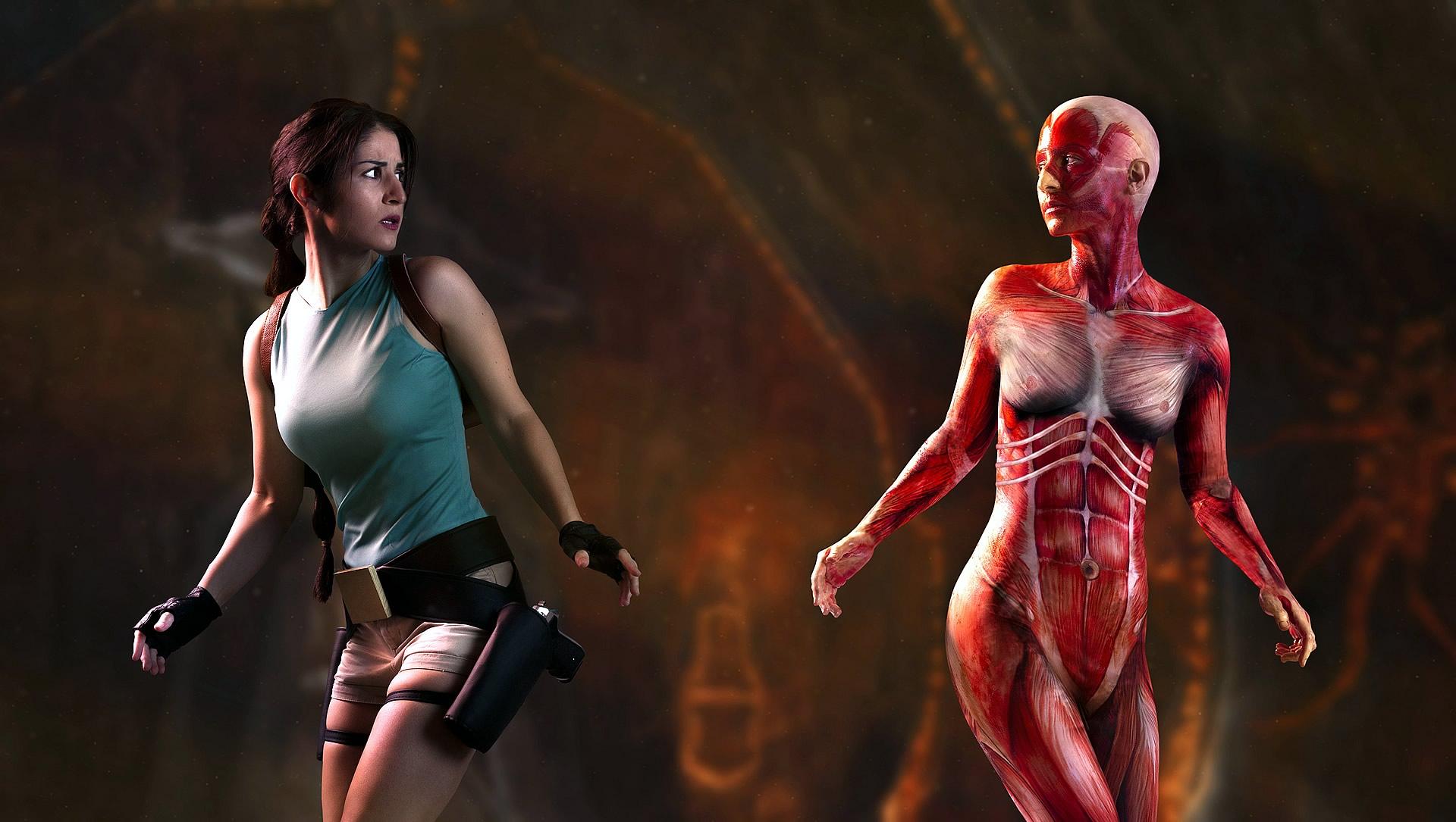 crofty model cosplayer tomb raider 1 e - Crofty - The Old School Lara Croft Cosplayer