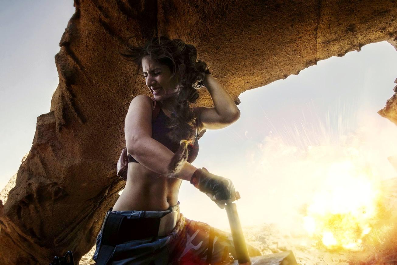 crofty model cosplayer tomb raider 1 g - Crofty - The Old School Lara Croft Cosplayer