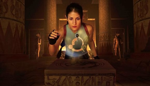 Crofty – The Old School Lara Croft Cosplayer