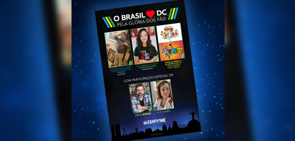 DC Fandome - Brazil Loves DC: For the Glory of the Fans