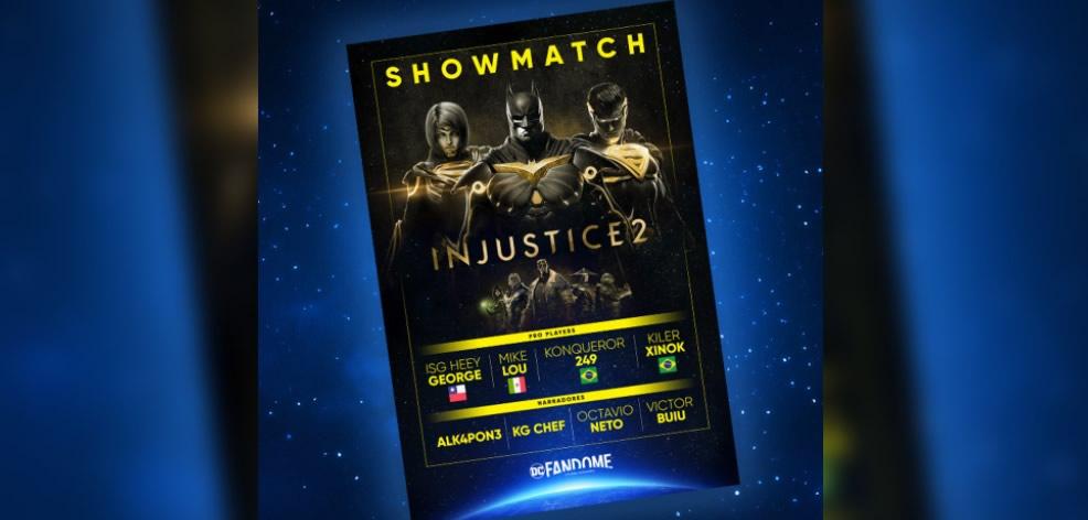 DC Fandome - Injustice 2 Show Match - Latin America/Brazil