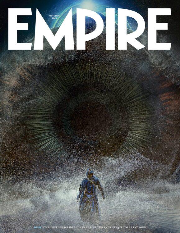 duna revista empire 1 579x750 - DUNA | Trailer emocionante da adaptação cinematográfica de Frank Herbert