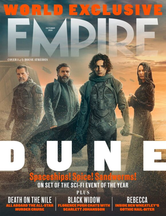 duna revista empire 2 579x750 - DUNA | Trailer emocionante da adaptação cinematográfica de Frank Herbert