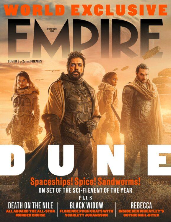 duna revista empire 3 579x750 - DUNA | Trailer emocionante da adaptação cinematográfica de Frank Herbert