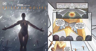 Raised by Wolves | DC Comics lança HQ Digital da série de Ridley Scott