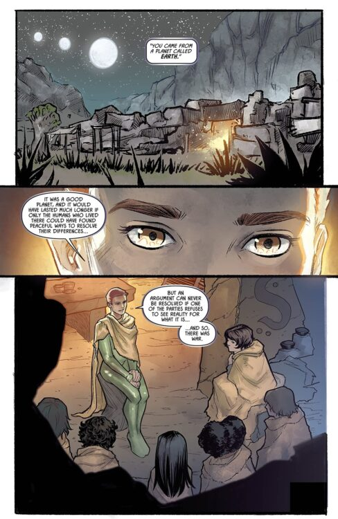 hbo max raised by wolves ridley scott hq digital pg1 488x750 - Raised by Wolves | DC Comics lança HQ Digital da série de Ridley Scott