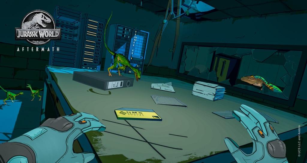 Jurassic World Aftermath | Novo videogame de RV anunciado para Oculus Quest