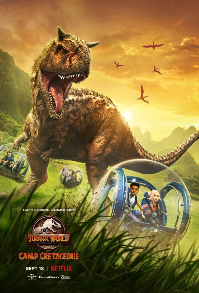Jurassic World: Acampamento Jurássico animação na Netflix ganha trailer e site interativo
