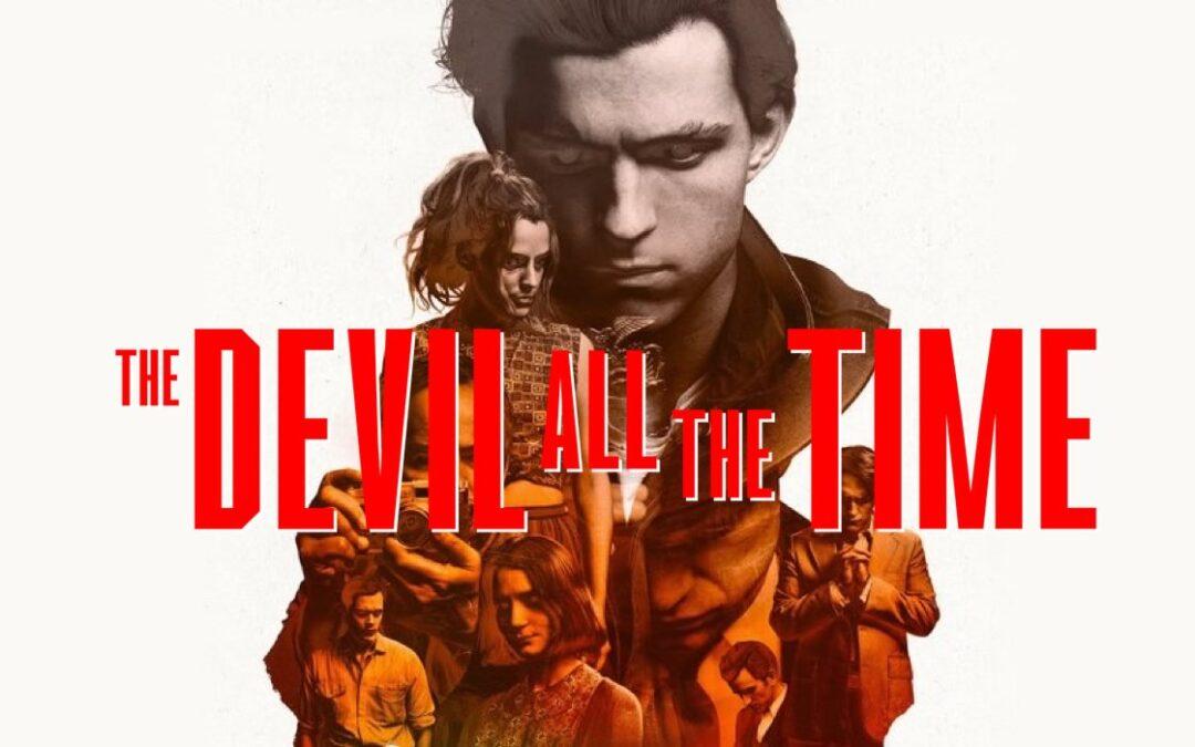 O Diabo de Cada Dia | Neflix divulga novo poster do filme com Tom Holland e Robert Pattinson