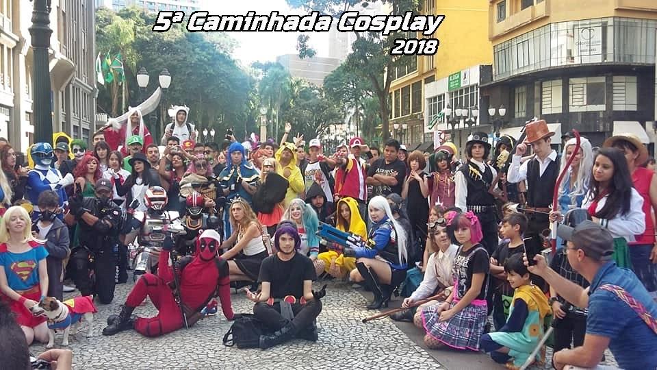 quinta caminhada cosplay 2018 - THUNDER | Cosplayer Resident Evil