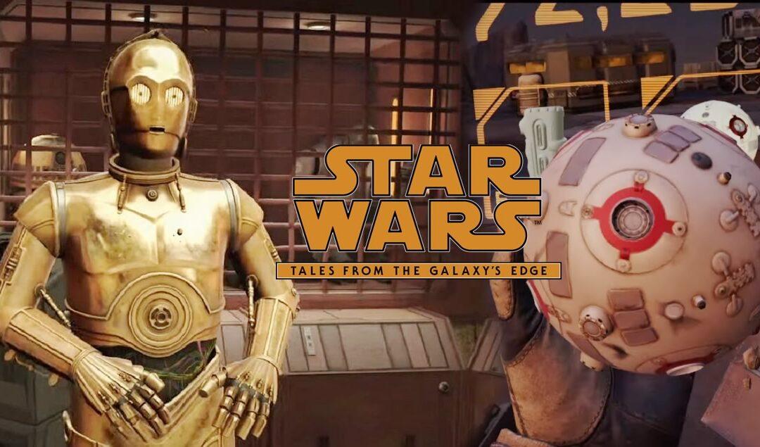 Star Wars: Tales from the Galaxy's Edge – Teaser de jogo realidade virtual para Oculus Quest 2