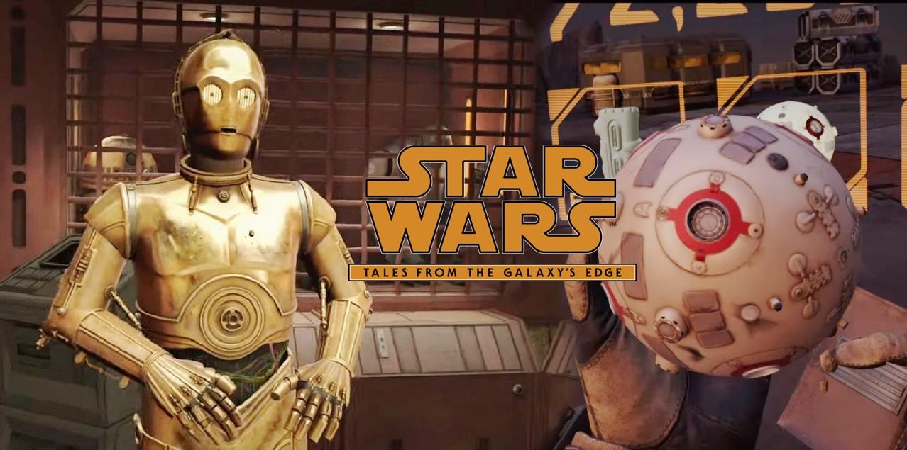 Star Wars: Tales from the Galaxy's Edge - Teaser de jogo realidade virtual para Oculus Quest 2