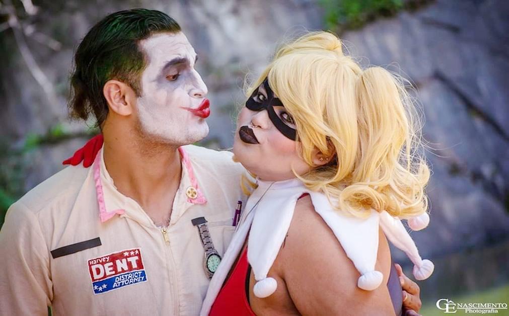 tatty quinn cosplay harley quinn e joker - Tatty Quinn Cosplayer