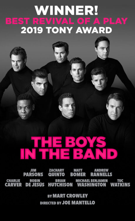 the boys in the band filme na netflix tony award 459x750 - The Boys in the Band | A adaptação da amada peça gay de Mart Crowley chega na Netflix em 30 de Setembro