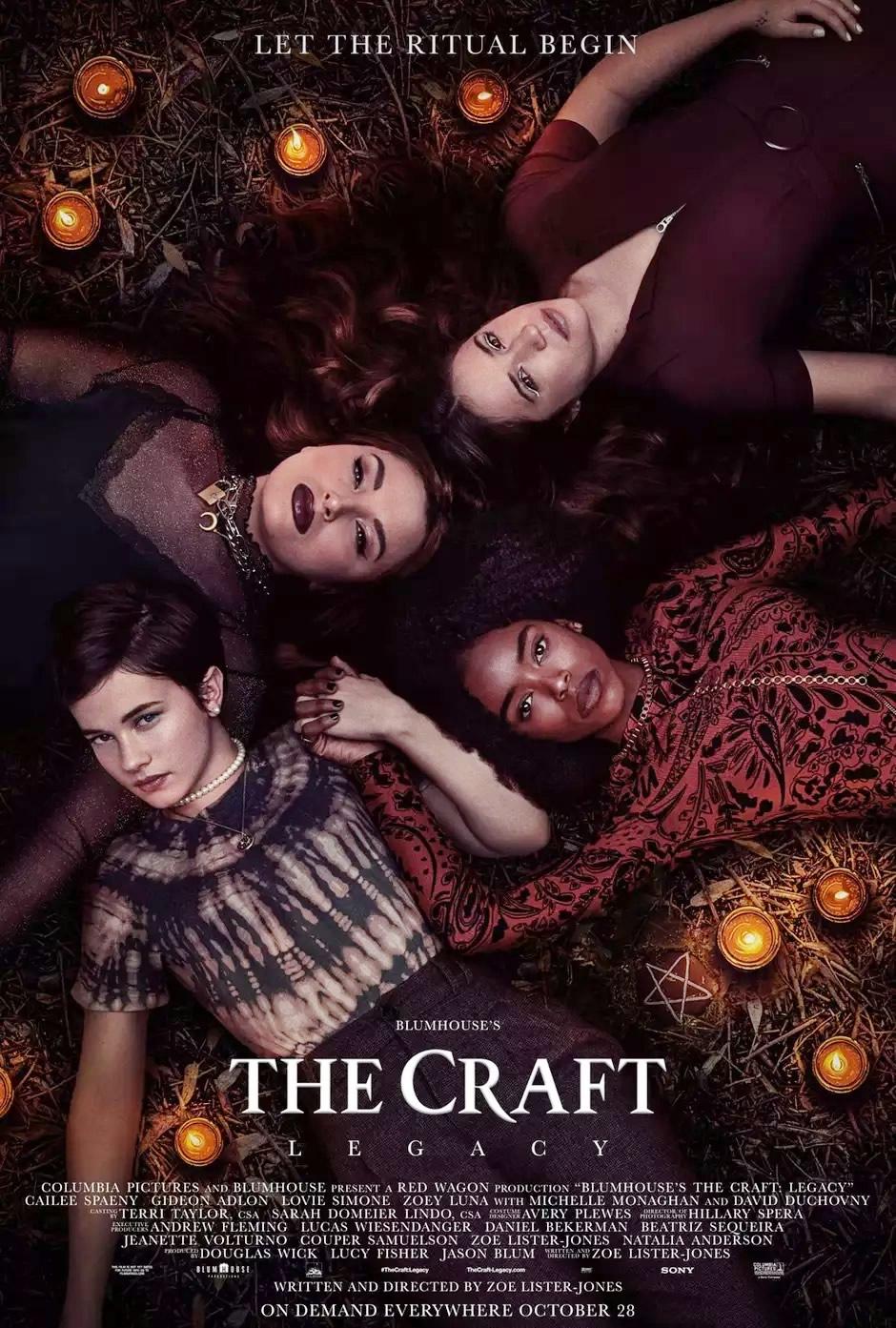 The Craft Legacy | Jovens Bruxas da Blumhouse ganha trailer e Pôster