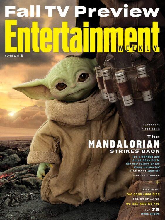 Tha Mandalorian segunda temporada estampa capas da revista EW