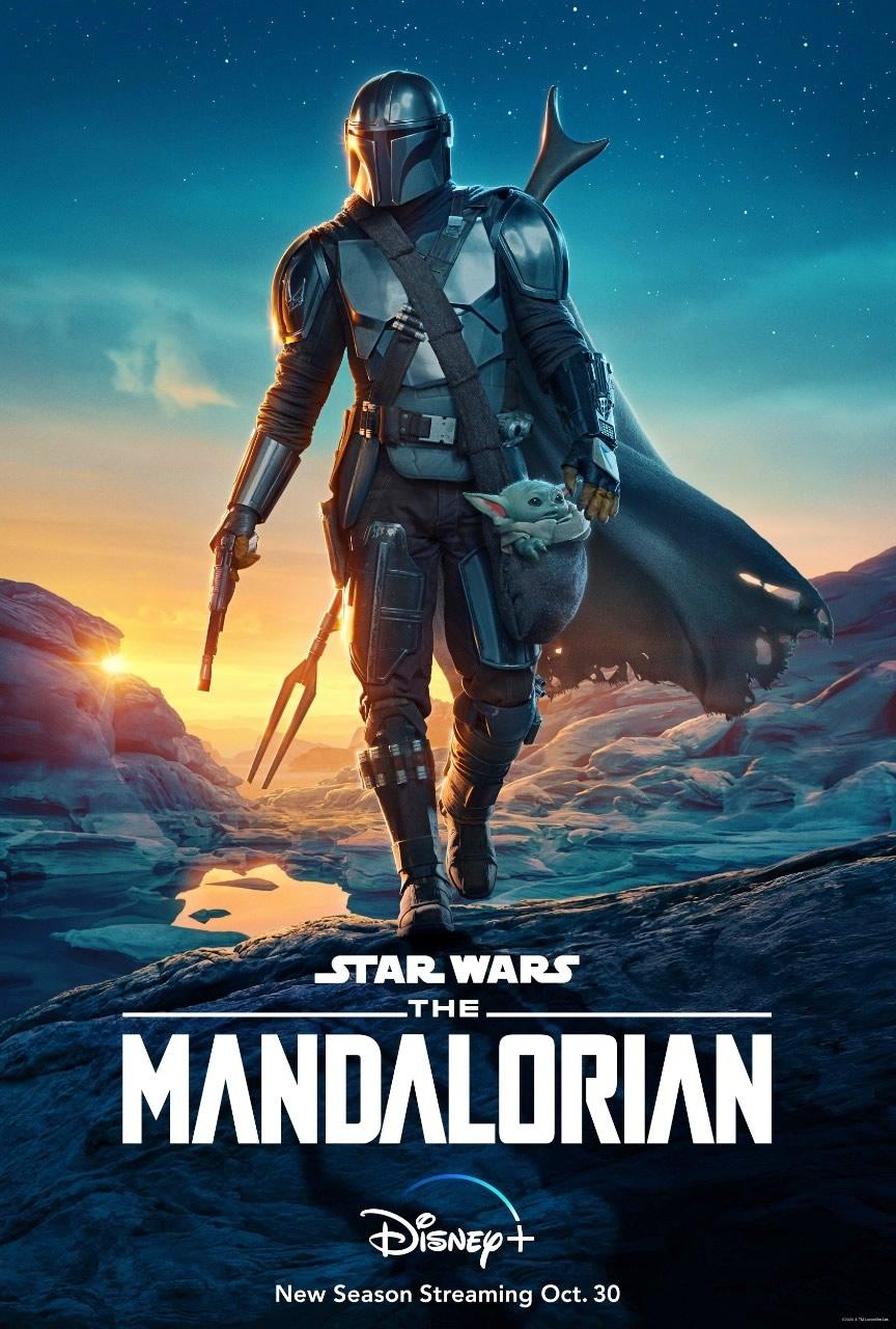The Mandalorian - Trailer da Segunda Temporada com Baby Yoda na Disney Plus