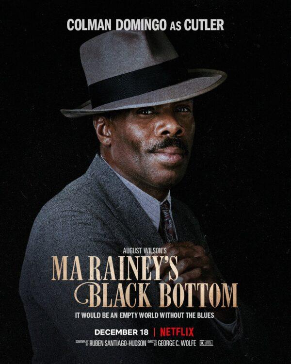 A Voz Suprema do Blues   Cartazes do último filme de Chadwick Boseman