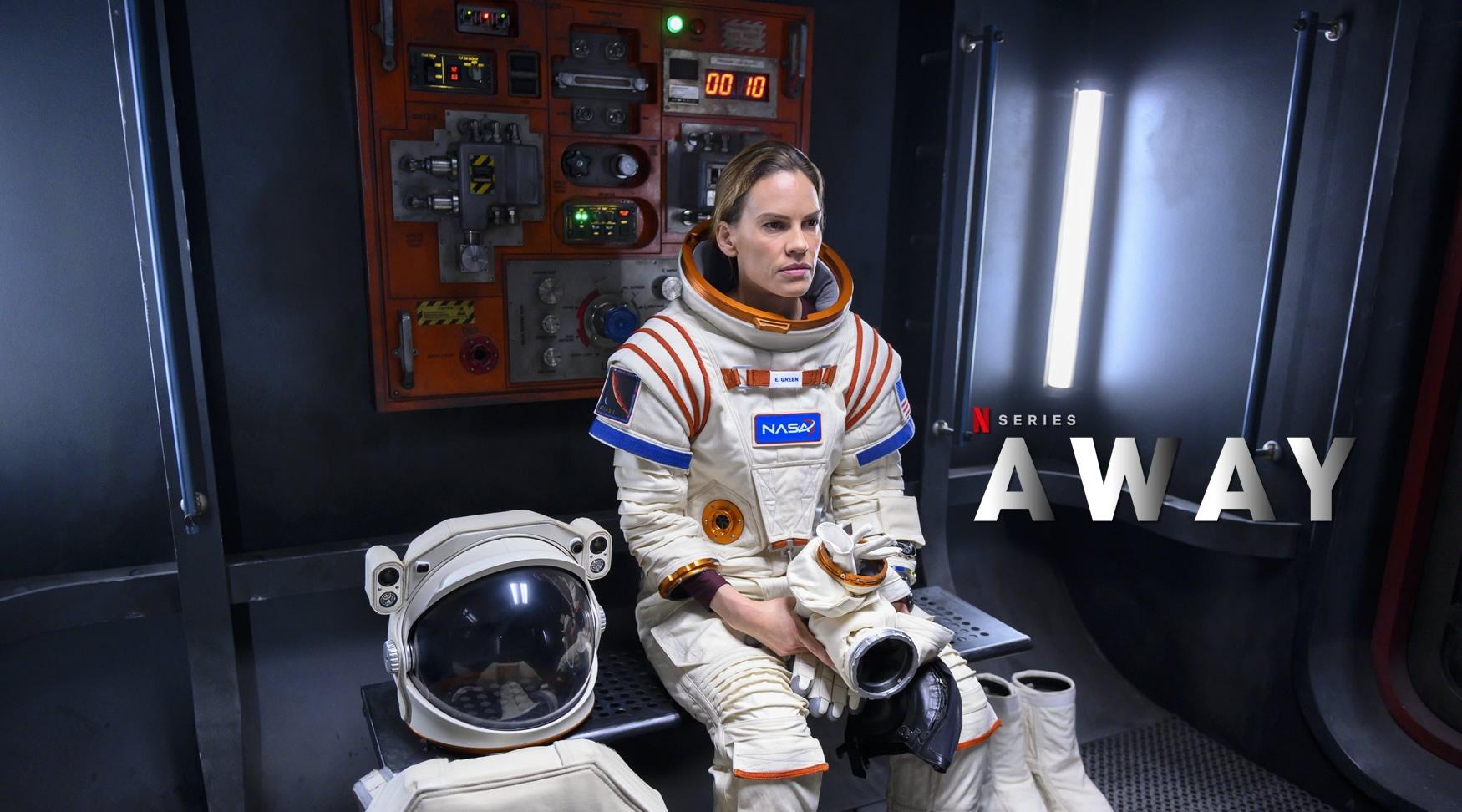AWAY | Netflix cancela segunda temporada da série sobre missão à Marte com Hilary Swank