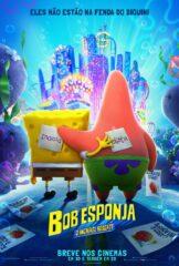 Bob Esponja: O Incrível Resgate na Netflix, com Bob Esponja e Patrick tentando salvar Gary