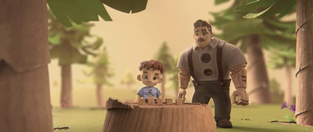 Boy in the Woods | Animação que aborda autismo de forma sensível