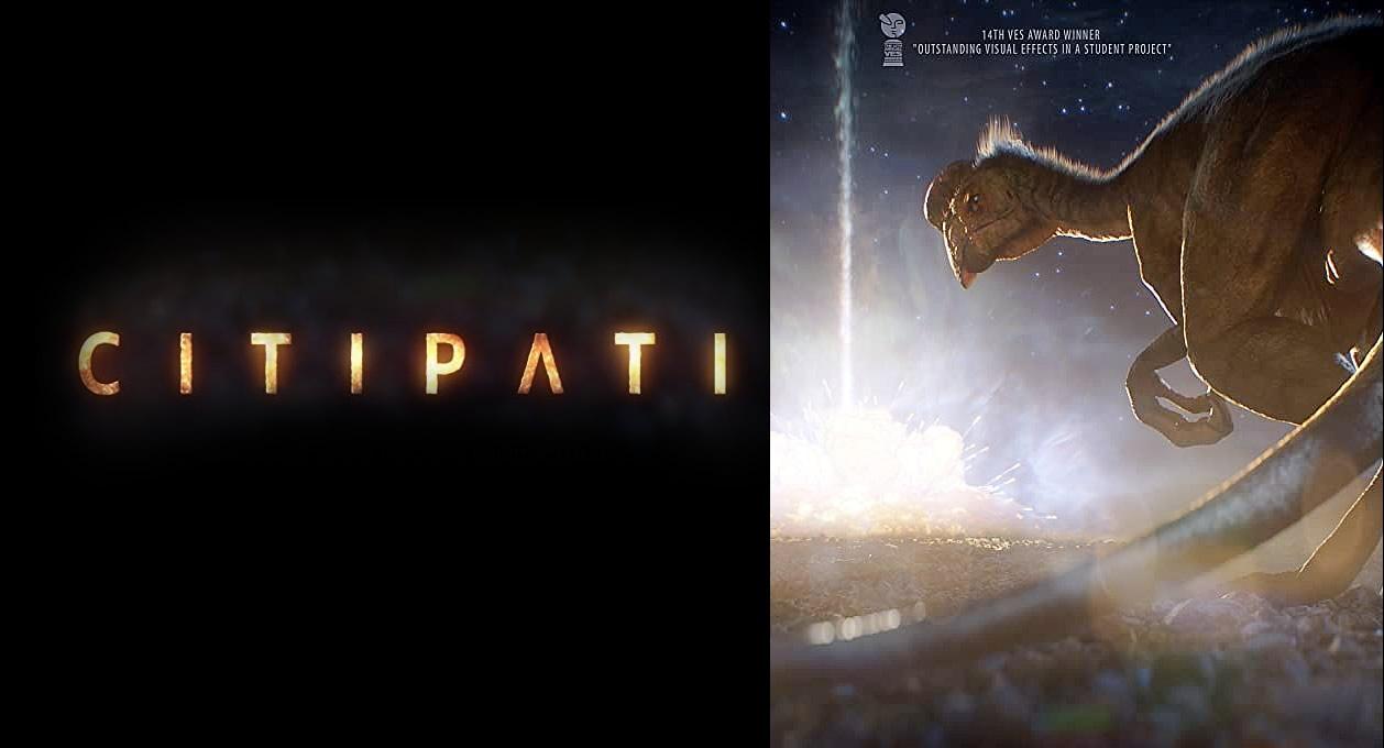 Citipati | Linda animação em CGI sobre um dinossauro em seus últimos momentos