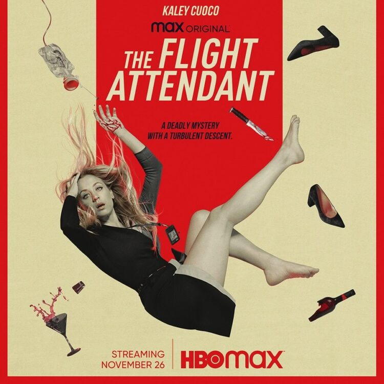 flight attendant kaley cuoco serie hbo max 750x750 - THE FLIGHT ATTENDANT | Kaley Cuoco em nova série na HBO MAX