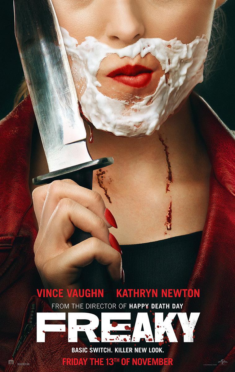 freaky no corpo de um assassino - Freaky: No Corpo de um Assassino  | Comédia de troca de corpos entre uma adolescente e um serial killer