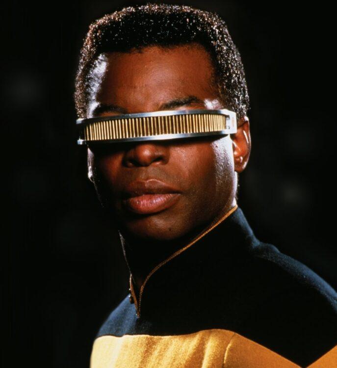 geordi la forge star trek next generation 687x750 - Wesley Snipes quase foi escalado para o elenco de Star Trek Next Generation