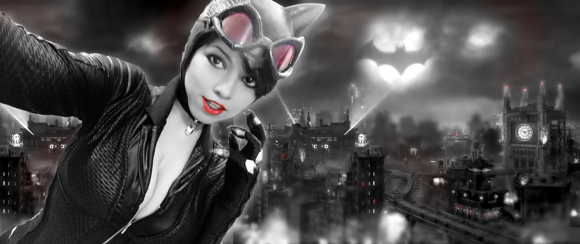 miss kyle topo - Cosplay Mulher-Gato Selina Kyle - Miss Kyle